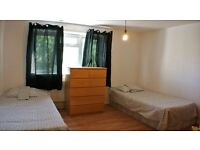 MUST SEE!!! TWIN ROOM JUST OPPOSITE BERMONDSEY TUBE STATION - ALL INCLUSIVE