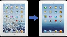 iPADs and Samsung TABLETs Cracked Screen repair @Amazing LOWEST price!!! ON THE SAME DAY