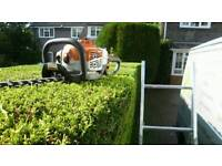 Garden tidy ups grass & hedge cutting tree work pressure washing all garden services landscaping