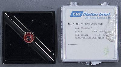 New Cvi Melles Griot Tlm1-750-0-0537-0.025cc .5 Tunable Laser Line Mirror