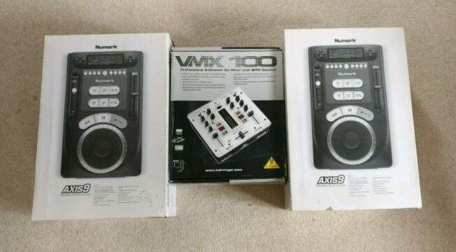 Numark Axis9 CDJ + Behringer mixer
