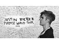 Justin Bieber Glasgow Hydro Tickets 30/10/16
