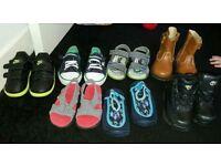 Boys shoe bundle size 6 infant