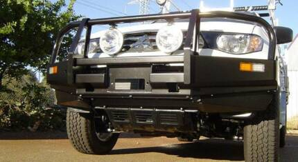 4x4 Commercial BULL BAR ROO BAR Bullbar Supply & Fit from $1495