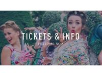NEW LOWER PRICE - Festival No. 6 Tickets - Two Adult Weekend Camping from Thursday