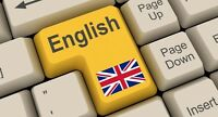 COURS D'ANGLAIS       / Experienced English Tutor