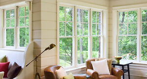 Energy efficient with a 25 years guarantees windows and doors