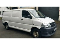 TOYOTA HIACE 300 D-4D LWB - 1 OWNER FROM NEW / NO VAT (t5, vw transporter van)