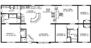 Big, luxurious and affordable - New Craftsman manufactured home
