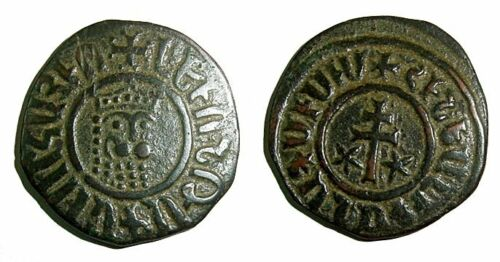 Cicilian feudal coin:  Levon I (1199-1219)