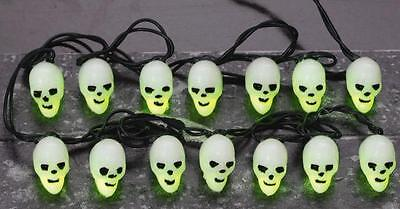 Lemax Spooky Town Halloween Tree Lights 14 Lighted Skull String 34905](Spooky Lit Halloween Tree)