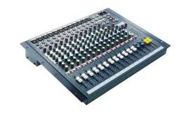 12 Channel Soundcraft Mixing Desk