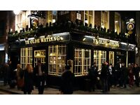 Full and Part Time Superstars for City of London Pub ** Mostly Mon-Fri shifts**