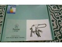 Homebase Westminster Bath Shower Mixer - Chrome (brand new and unopened)