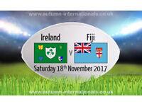 2 xIreland V Figi - Rugby Tickets Aviva Statium - PREMIUM LEVEL