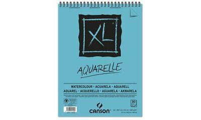 CANSON Aquarell Papier XL Skizzen Studien Block DIN A5 Papier 20 Blatt 300g/qm