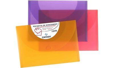 #10xCANSON Zeichnungsmappe, 270 x 350 mm, leuchtende Farben