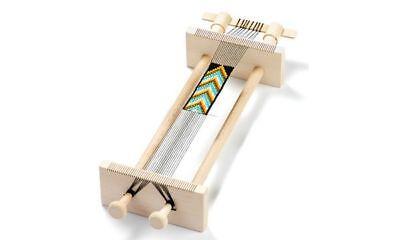 KNORR prandell Perlenwebrahmen aus Holz 216080006 zum Weben von Perlenbänder