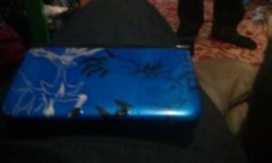 Blue Pokemon X & Y 3ds xl plus 5 games
