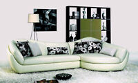 Genuine Leather sectional sofa and chaise ON SALE