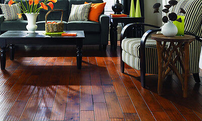 Maple Rum Handscraped Engineered Hardwood Flooring (Click Secure) Wood Floor $1.99