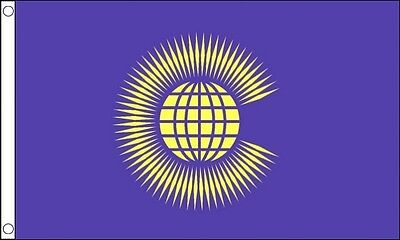 COMMONWEALTH FLAG COMMONWEALTH OF NATIONS COMMONWEALTH GAMES 5FT X 3FT