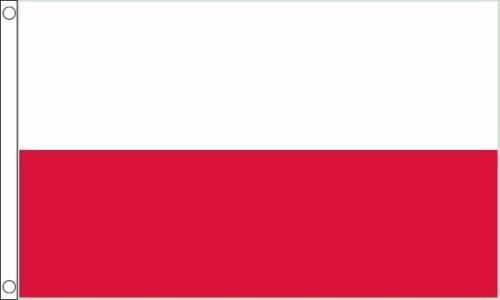 Poland 3ft x2ft (90cm x 60cm) Flag