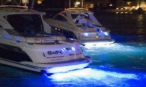 LED Light Bars Installed on Fishing Boats
