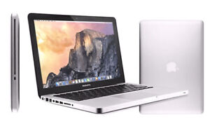 MacBook Pro Silver 13-inch, Mid 2012 upgraded with 500gb ssd hd