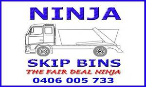 Ninja Skip Bin Hire - Best Price! Lidcombe Auburn Area Preview