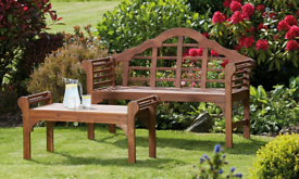 Brand New - Wooden Bench Solid acacia wood with an oil finish
