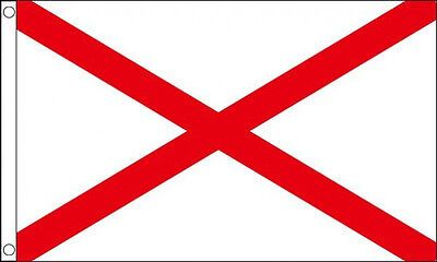 ST PATRICK CROSS FLAG Saint Patricks Day Ireland Irish