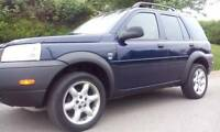 2002 Land Rover Freelander SUV, Crossover