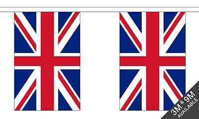 Union Jack (UK) National Wimpel 9 Meter Lang 30 Flags ()