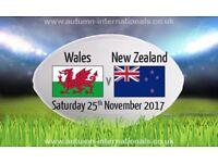 3x Wales Vs New Zealand tickets £100