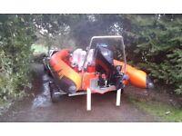 Rib boat 7.5m