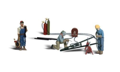 Woodland Scenics HO Scale Scenic Accents Figures/People Weld