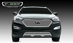 2013-2014 Santa Fe Sport  Upper Class STAINLESS POLISHED Grille