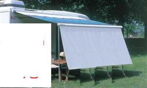 Rain + Sun Blocker Vorderwand für Omnistor Thule Markise 240 x 140cm 04000m NEU