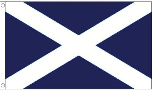 Scotland St Andrews (Navy Blue) 8ft x 5ft (240cm x 150cm) Flag