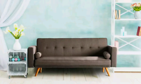 Miriam Fabric Sofabed available in Assorted colours new