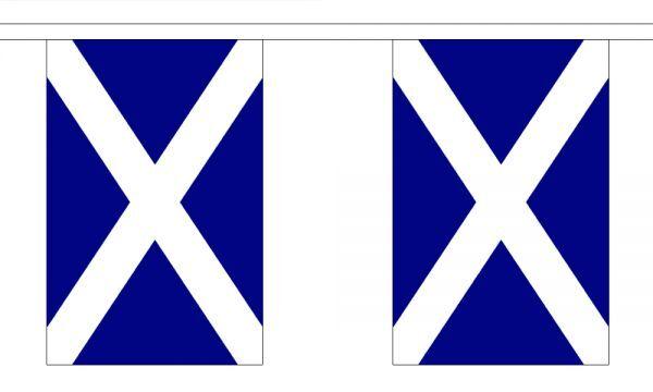 Scotland St Andrews Flag Bunting - 3m 6m 9m Metre - Dark Blue Navy