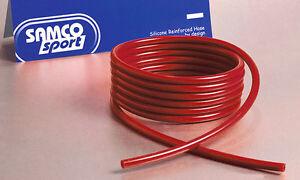 Original Samco Sport Silikon Unterdruckschlauch 3mm 3m lang - rot rennsport