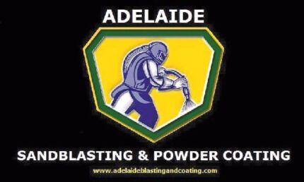 Adelaide Sandblasting & Powder Coating Services  Craigmore Playford Area Preview
