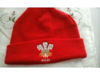 Wales rugby hat