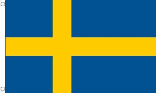 Sweden 3ft x2ft (90cm x 60cm) Flag