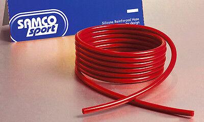 Samco Sport Silikon Unterdruckschlauch Durchmesser 4mm Länge 3m - rot