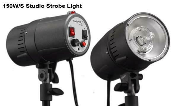 STUDIO FLASH M150 STROBE LIGHT N200 MONOLIGHT AIKIPHOTO Photo DSLR SLR **EX**