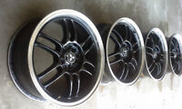 "BSA 17"" Wheels for civic SI, lancer ralliart"
