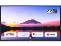 """40"""" JVC SMART WIFI 4K ULTRA HD HDR LED TV CAN POSSIBLY DELIVER"""